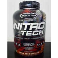 Nitrotech Muscletech 4 lbs BPOM Nitro Tech Whey Protein lb Ripped Gold