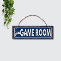 Hiasan Dinding Walldecor Pajangan Ruangan Interior Sign GAME ROOM