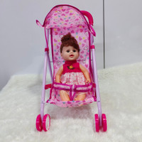mainan dorongan boneka bayi