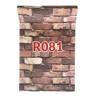 R81 Wallpaper Sticker Batu - wallpaper dinding