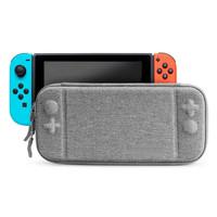 Nintendo Switch Portable Bag EVA Hard Grey Holder Waterproof Case