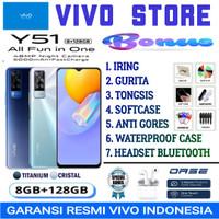 VIVO Y51 RAM 8/128 GB GARANSI RESMI VIVO INDONESIA