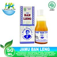 Jamu Ban Leng - Obat Batuk Pilek Sakit Perut & Masuk Angin - 50 ML