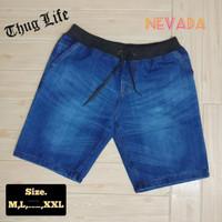 Celana Jeans Pria Nevada ORIGINAL Pendek Denim