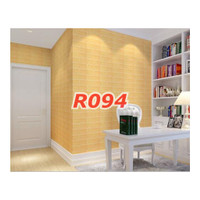 R94 Wallpaper Sticker Batu - wallpaper dinding