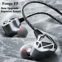 Fonge F5 HiFi Sport Earphone Aluminum Metal Bass Headset with mic