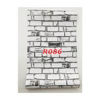R86 Wallpaper Sticker Batu - wallpaper dinding