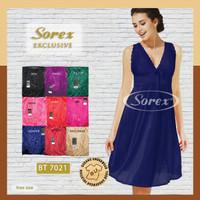 Baju tidur Wanita Satin Lingerie SOREX Exclusive BT 7021 ISI-1PCS