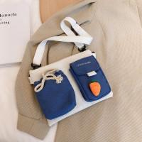 FUNATIC❤️ JIASHIQING!! Tas Selempang Wanita Free Gantungan FA950 - Putih Biru