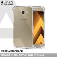 Anti Crack Samsung Galaxy A5 (2017) | Softcase Anti Bentur - Clear