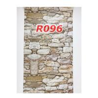 R96 Wallpaper Sticker Batu - wallpaper dinding