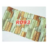 R93 Wallpaper Sticker Batu - wallpaper dinding