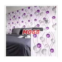 M68 Wallpaper Sticker Minimalis - Wallpaper Dinding