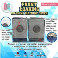 COVER MESIN CUCI SATU TABUNG BUKAAN DEPAN / FRONT LOADING