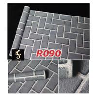 R90 Wallpaper Sticker Batu - wallpaper dinding