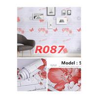R87 Wallpaper Sticker Batu - wallpaper dinding