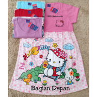 Baju anak SATUAN daster umur 8-10 tahun / Baju anak perempuan / Baju a