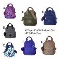 Backpack 3 in 1 Kipling 12688 Nylon Waterproove premium