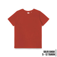 JUNIOR T-SHIRT BRICK RED