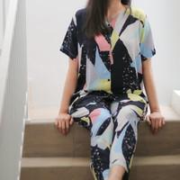 BEST SELLER Piyama katun rayon wanita adem / baju tidur rayon
