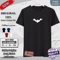 baju distro original kaos laki laki dewasa murah Superhero logo batman