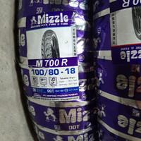 BAN LUAR MIZZLE M700 100/80-18 TUBELESS