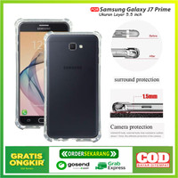 Case Anti Crack Samsung Galaxy J7 Prime Casing Shockproof Tebal 1.5mm