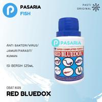 RED BLUEDOX Obat Ikan Anti Jamur/Parasit/Bakteri/Kuman dan Lula