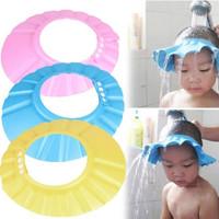Topi Keramas Anak Bayi Pelindung Mata Kids Shower Cap
