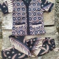 baju tidur batik anak umur empat tahun sampai lima tahun cowo cewe