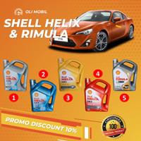 Promo Oli Mobil Shell Helix HX / RIMULA 4 Liter