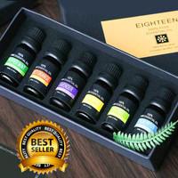 6 Botol Minyak Aroma Terapi Fragrance Pure Essential Oil Aromatherapy