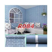 R84 Wallpaper Sticker Batu - wallpaper dinding