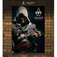 Poster Game - ASSASINS CREED IV BLACK FLAG - ubisoft - Poster Film