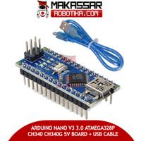 ARDUINO NANO V3 3.0 ATMEGA328P CH340 CH340G 5V BOARD + USB CABLE