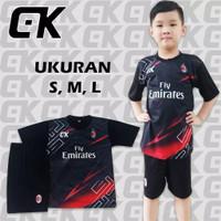 AM.003 /setelan baju bola anak/jersey printing/bayar ditempat