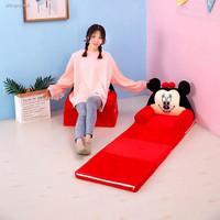 Sofa / Kasur Lipat Multifungsi Motif Kartun Untuk Bayi Anak Perempuan