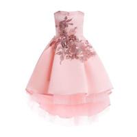 milanberry JULIAN DRESS PEACH baju anak perempuan pesta gaun import - 3-4 tahun