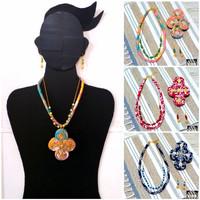 Kalung Batik Wanita Ukel & Anting