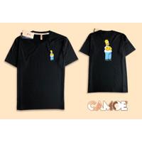 KAOS T SHIRT desain Homer Simpson
