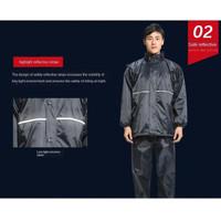 Jas Hujan Impor Model Baju dan Celana panjang kualitas tebal not axio