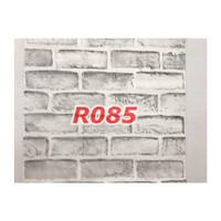 R85 Wallpaper Sticker Batu - wallpaper dinding