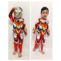 kostum anak ultraman go/baju ultramen murah meriah/kostum superhero