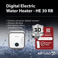 ARTUGO DIGITAL ELECTRIC WATERHEATER HE 30 RB - Remote 30 L