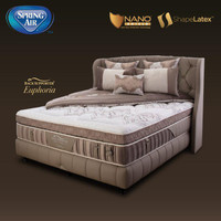 SpringBed Spring Air Back Supporter Euphoria   Kasur   Mattress Only