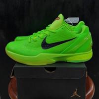Sepatu Basket Nike Kobe 6 Protro Green Apple / Kobe VI Protro Premium
