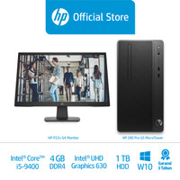 HP 280 Pro G5 Microtower Desktop PC/Intel Core i5-9400/4GB/1TB/W10 Pro