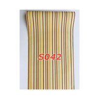 S42 Wallpaper Sticker Stripe - Wallpaper Dinding Garis