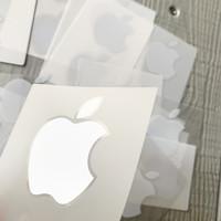 Sticker Apple Original Copotan iPhone iPad Mac Koleksi Pribadi
