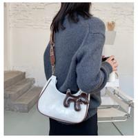 FUNATIC❤️CALLA!!Tas Slempang Import Korea Style FA953 - Putih